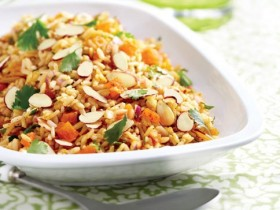 Almond Rice