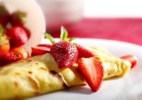 French Breakfast Crepes (Pannekake in Norwegian)